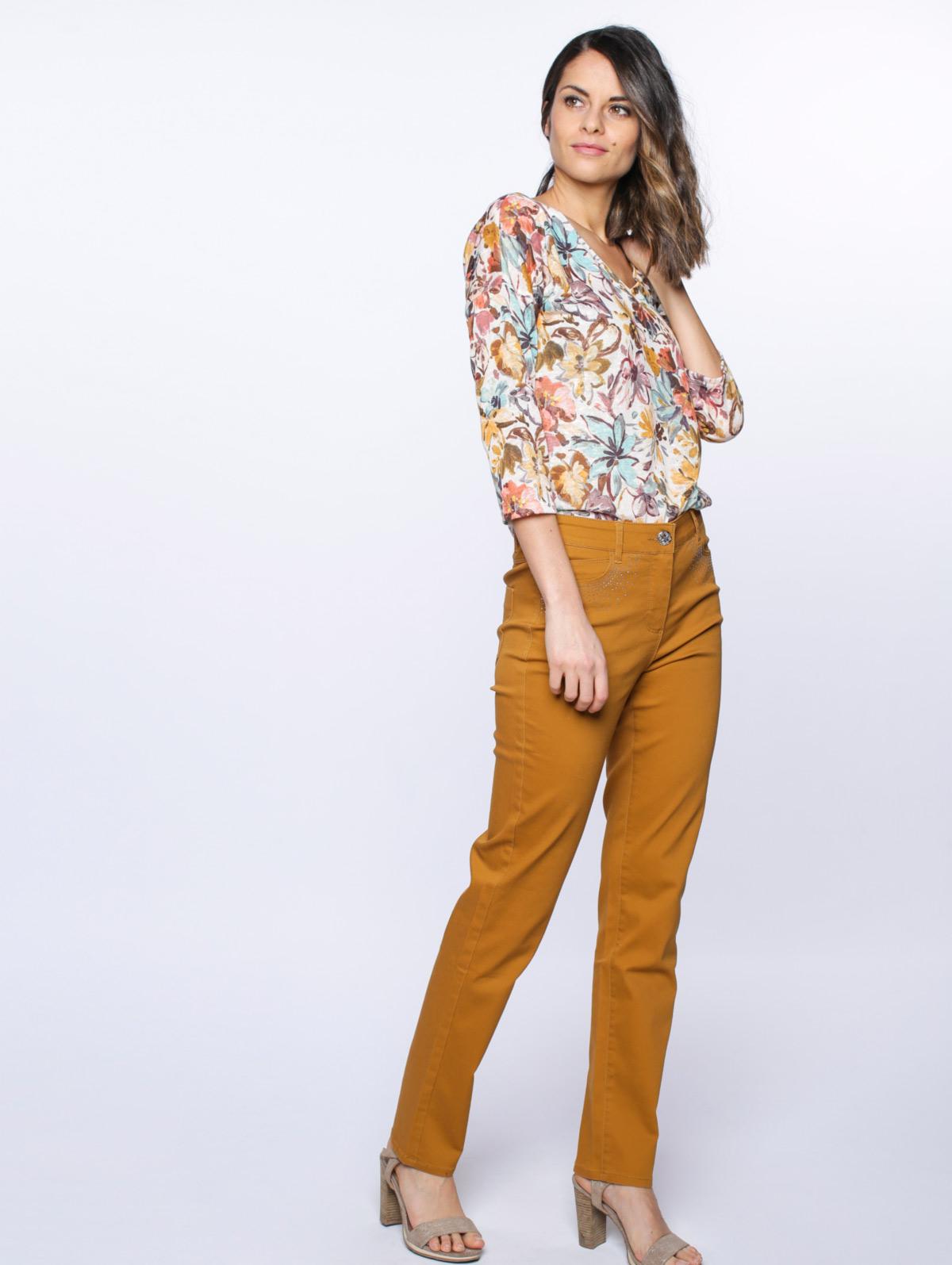 Pantalon strass poches