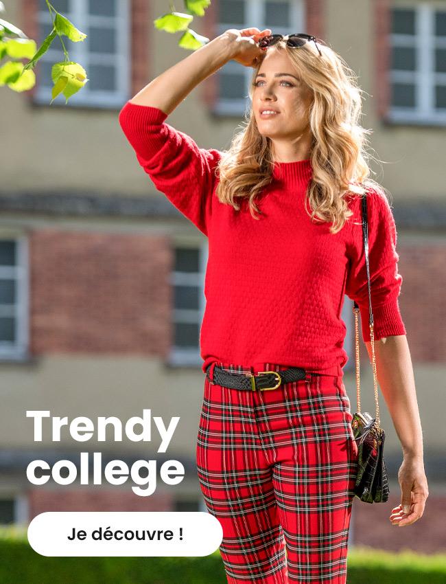 Tendance Trendy College - maboutiqueplus