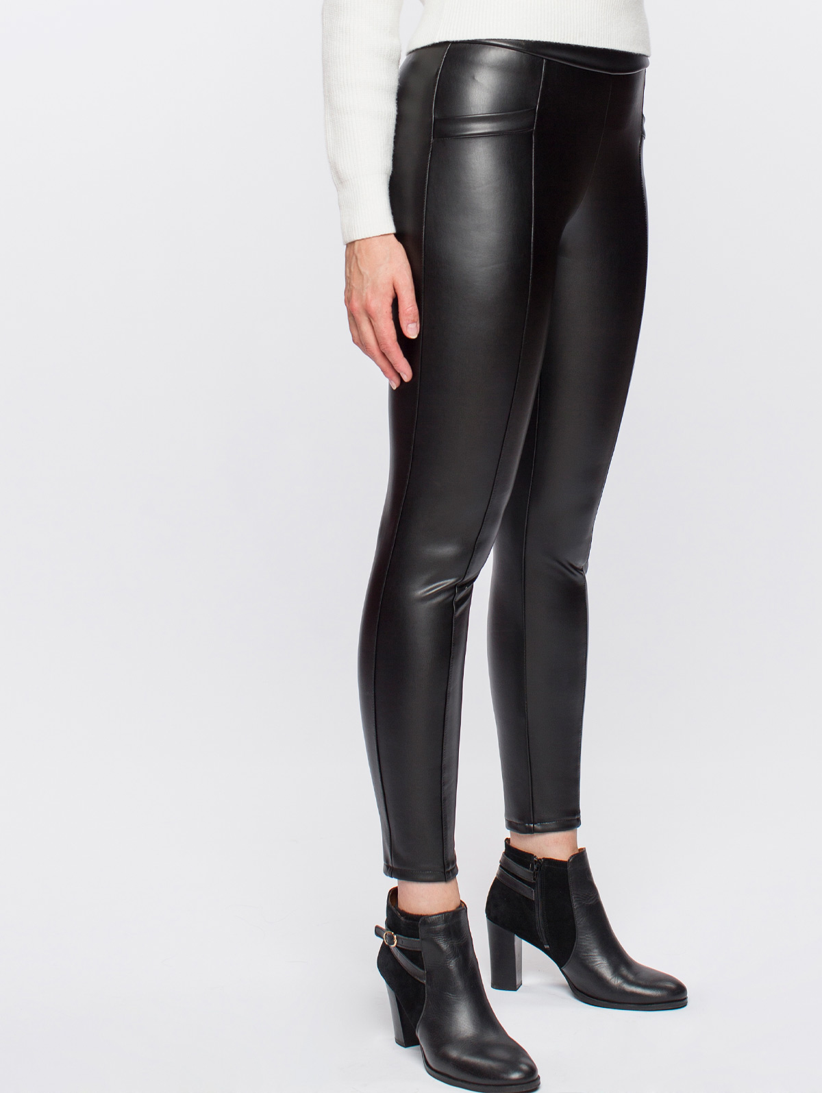 Jegging effet cuir - maboutiqueplus