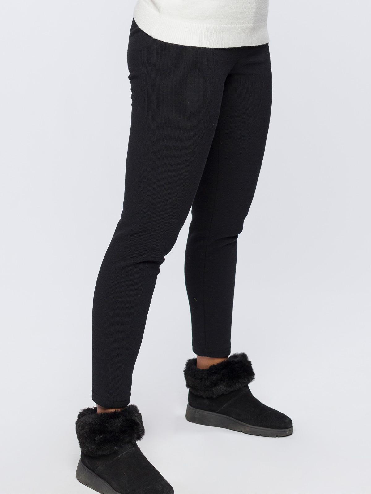Legging uni côtelé - maboutiqueplus